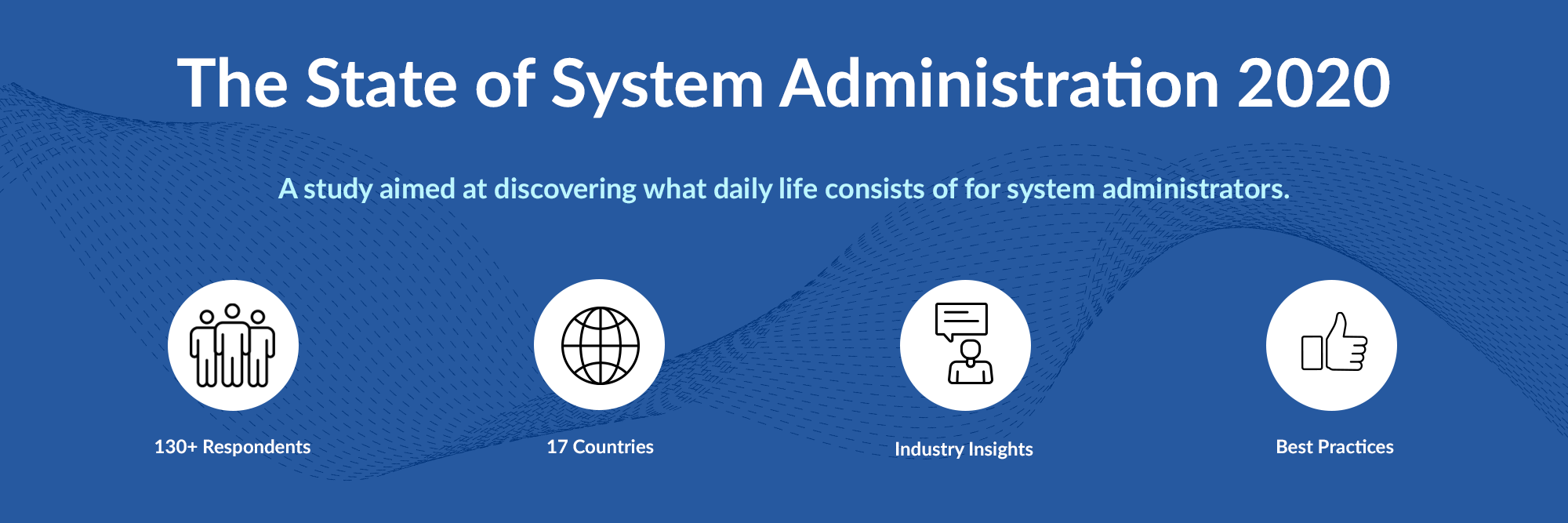 The State of System Administration 2020. A study aimed at discovering what daily life consists of for system administrators.