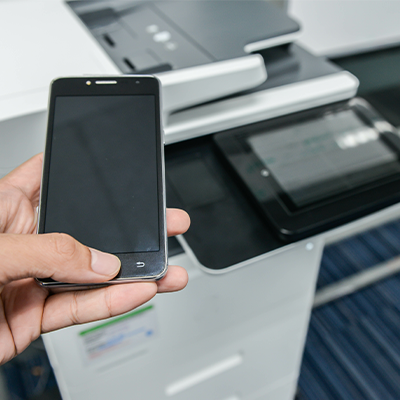 Mobile printing.